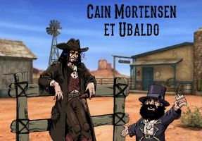 Cain Mortensen and Ubaldo by MarionPoinsot34