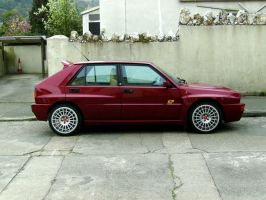 Lancia Delta Integrale by Jeek-the-other-one