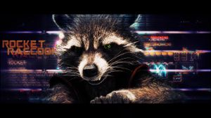 Rocket Raccoon - Guardians of the Galaxy wallpaper by BiigM