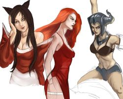 League of legends characters by marinasanc