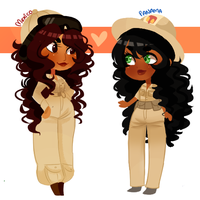 Uniform sisters by Ask-MsMexico