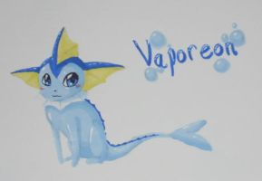 Vaporeon by Cannibal-Pie-Chan