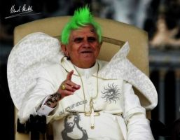 punk pope by the-art-of-matth
