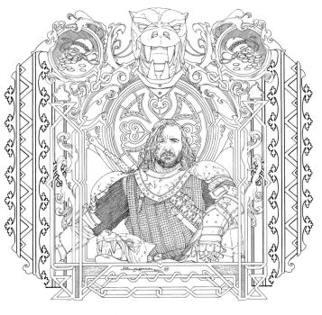 Game Of Thrones_ Coloring Book_ 10 by AllJeff