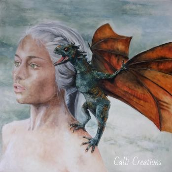 games of thrones.  Daenerys by CalliCreations