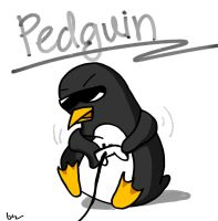 Pedguin by black90