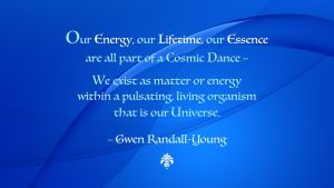 Gwen Randall-Young Quote by RSeer