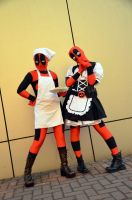 DEADPOOL MAID by tarta0823