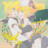 Rin And Len by adrian17vera