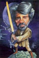 George Lucas by thegryph