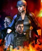 the mercenaries by WeskerFan1236
