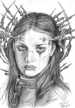 Luis Royo's The Announcent by Cataclysm-X