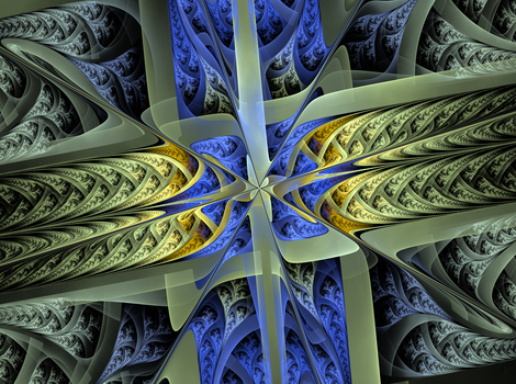 fractal origami by sewer-pancake