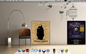 Macbuntu Productive Desktop 1 by Kerochris