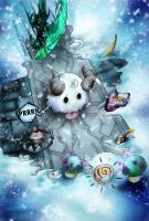 Poro in Trouble by HuskyIllustrations