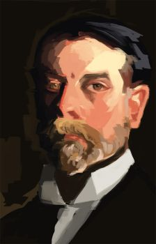 Practice from Sargent self portrait by ITAGalf