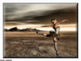 DANCING FOR THE WORLD I by Tigles1Artistry