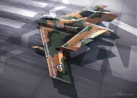 Canadian Fighter by Rizo3d