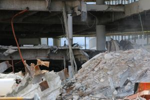Demolition site Stock 32 by Malleni-Stock