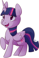 Twilight Sparkle Alicorn by Riboo