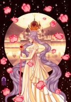 Serenity, princess of the moon by nilluss