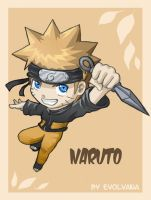 Naruto chibi comes back by Evolvana