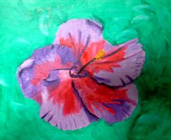 Hibiscus Edited 1 by Birds-of-Paradise196