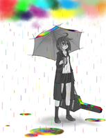 Rain Color by RnTkakashi