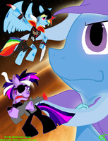 My little pony giant trixe battle by Nuclearpsychotic
