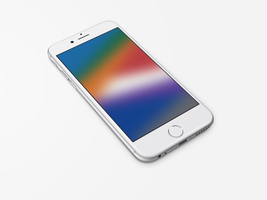 Texture-Colour-Blur2 Wallpaper for iPhone 6 and 6+ by kiwimanjaro