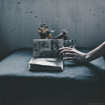 Time for silent anguish by NataliaDrepina
