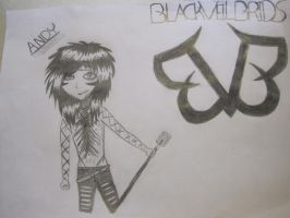 black veil brieds Andy Biersack by theawesomedreamgirl