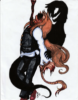 COLORED TRADITIONAL: Their Blood is on His Hands by InvaderIka
