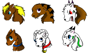 Headshot examples 1 by Fireprinces20