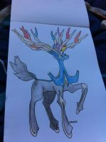Xerneas by FF-Terra