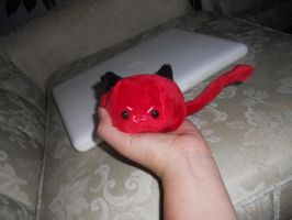 Devil Plushie Prototype by Love-Who