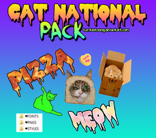 Cat National Pack by turnlastsong