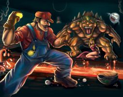 Epic Mario by jpzilla