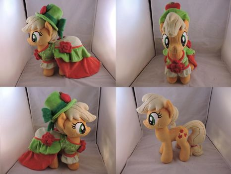 MLP Applejack Plush (commission) by Little-Broy-Peep