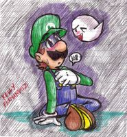 """Don't Be Scared Luigi..."" by LoveandCake"