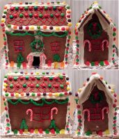 Gingerbread House by Tephra76