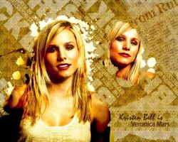 Kristen Bell as Veronica Mars by veronicas-club