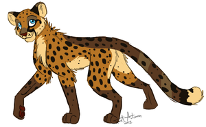 Cheetah Adoptable 1 -CLOSED- by JustAutumn