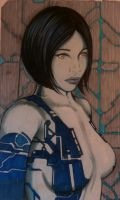 :Cortana in Color: by MsAnnThrope