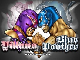 Villano vs Panther by ataud