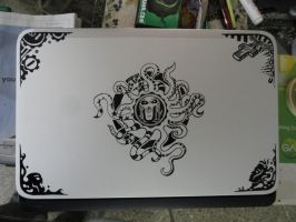 Painted the Laptop by chaitanyak