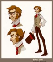 Honest John Concept Art by AlyssaTallent