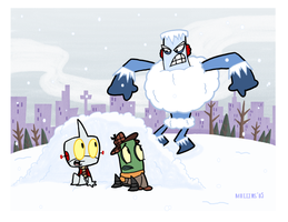 Snowbrawl Attacks by PanzerBanana