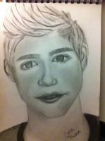 Portrait of Niall Horan by JuliaMukka