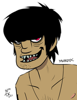 Murdoc-GORILLAZ by Darkside-Cookie